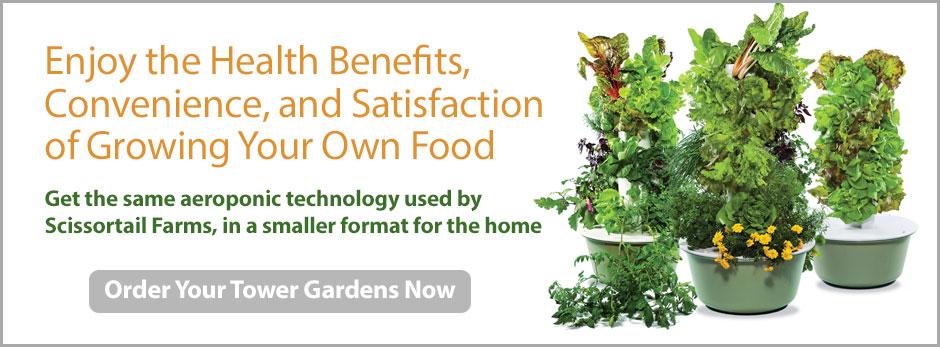 Buy a Tower Garden!